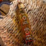Ulei de floarea-soarelui cu cimbru, piper și ardei iute